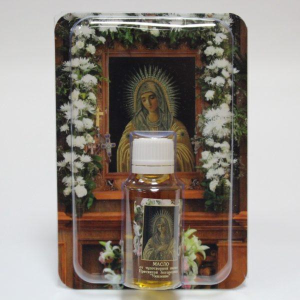 Масло от чудотворной икона Пресвятой Богородицы «Умиление»