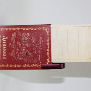 Блокнот с ручкой, для записей треб