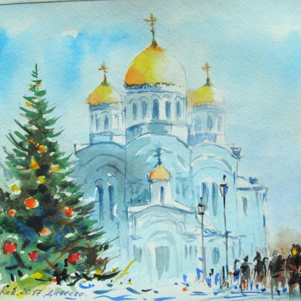 Рождество в Серафимо-Дивеевском монастыре