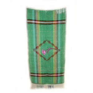 Коврик зеленый ручной работы Дивеевских сестер