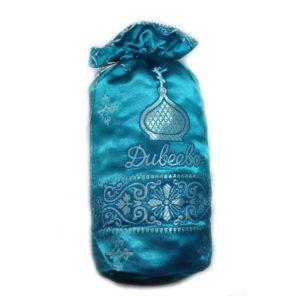 Сухарики в подарочной упаковке, освящены на мощах (синий мешочек)