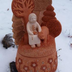 Дивеевская глиняная игрушка