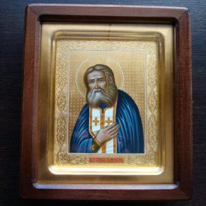 Преподобный Серафим Саровский (золото)