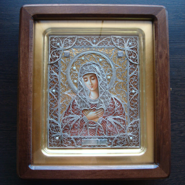 Умиление Пресвятой Богородицы (золото)