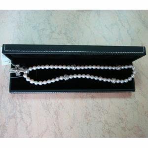 Четки жемчуг серебро (50 делений)