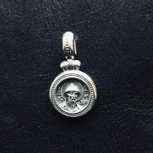 Образок Спиридон Тримифунтский (серебро)