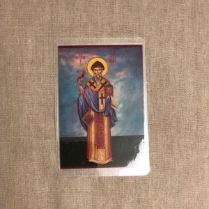 Блистер с изображением Спиридона Тримифунтского