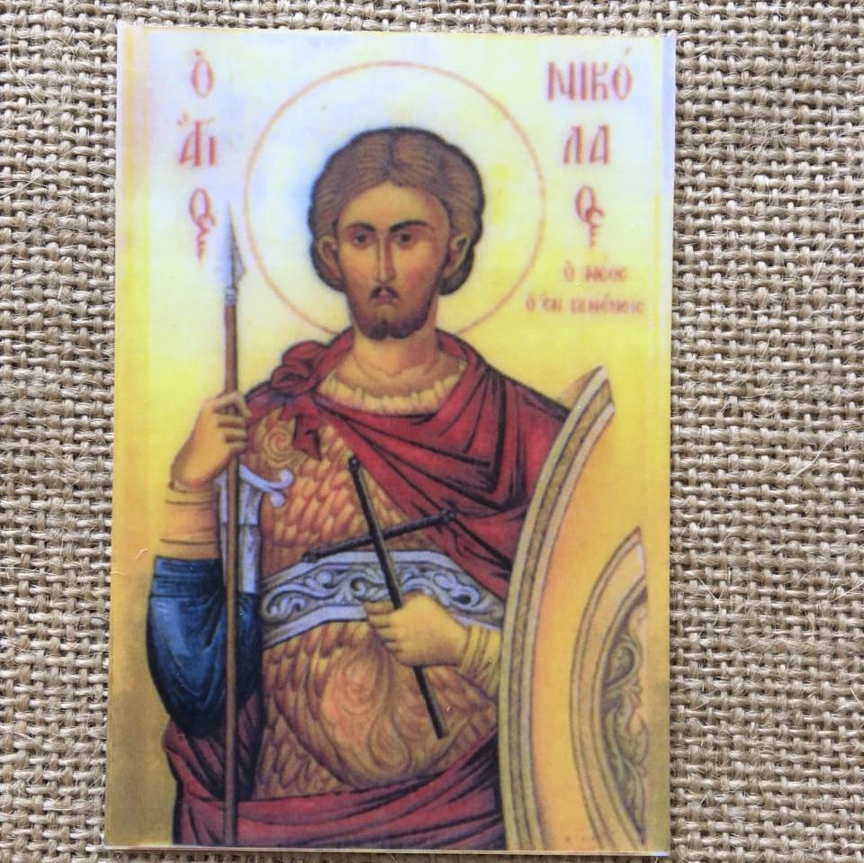 Икона Св. Николая Нового
