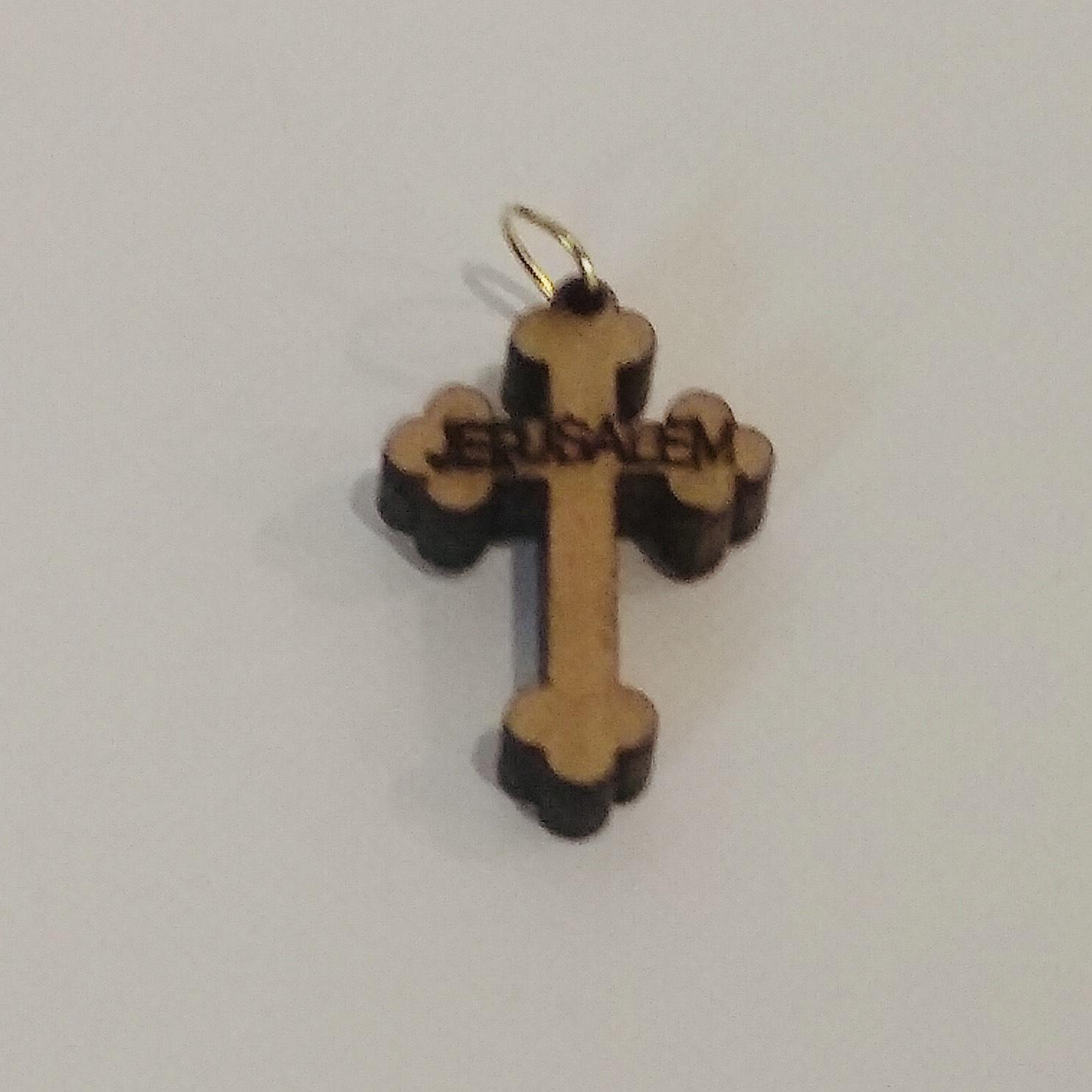 Крест нательный. Деревянный