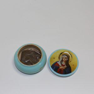 Горшочек с землей со святой канавки ПРЕСВЯТОЙ БОГОРОДИЦЫ