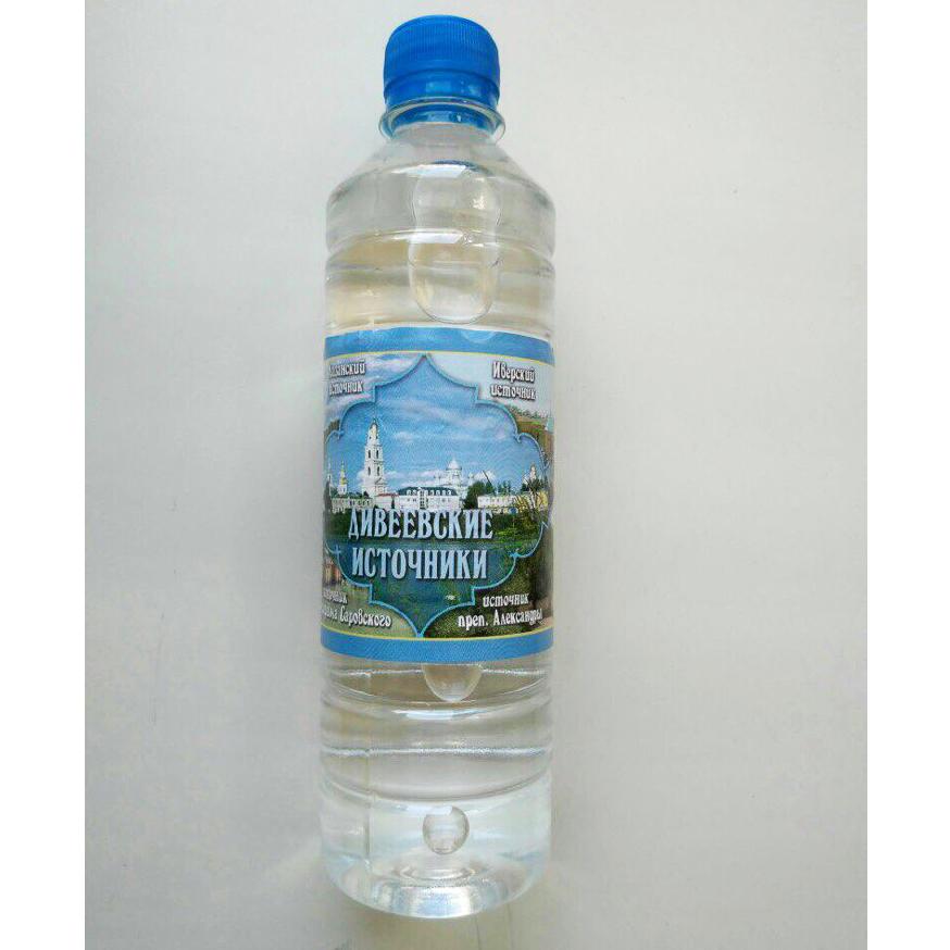 Вода из святого источника преп. Серафима Саровского (0,5 л)
