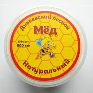 Дивеевский лесной мёд (500 мл)