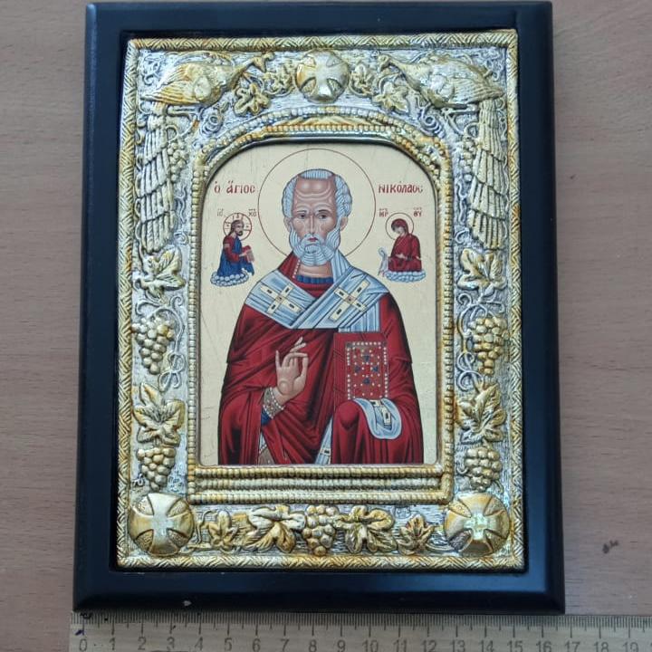 Икона Св. Николай Чудотворец Афон